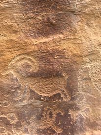 9 Mile Canyon Petroglyph