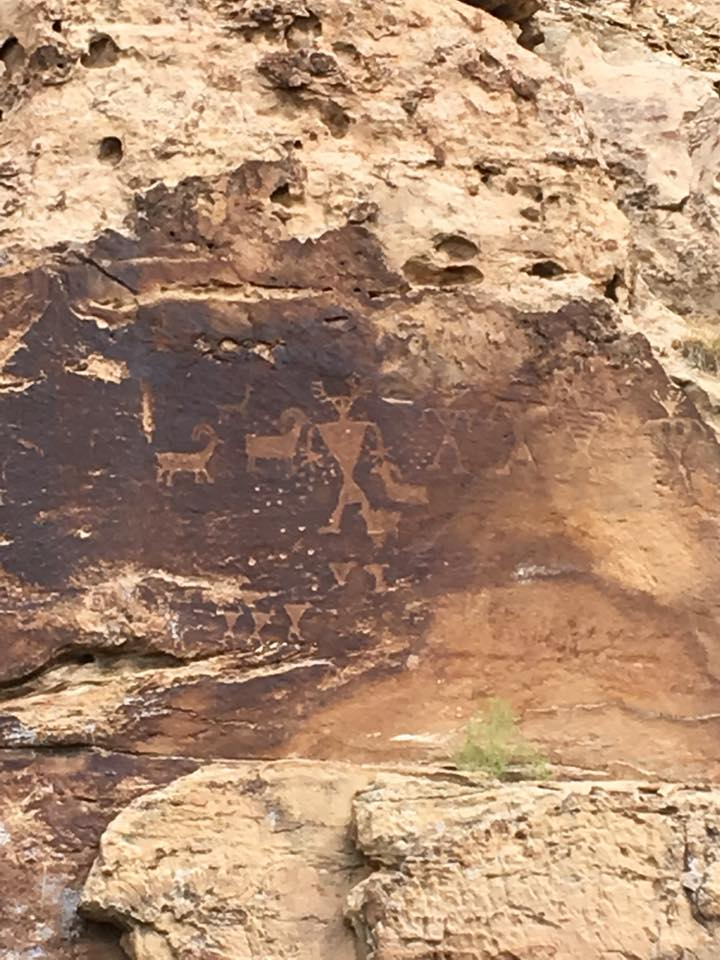 9 Mile Canyon Petroglyphs 3