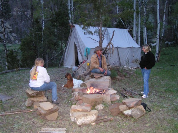 A wilderness adventure by day and an evening around the campfire, a scene you will remember on our wilderness trips