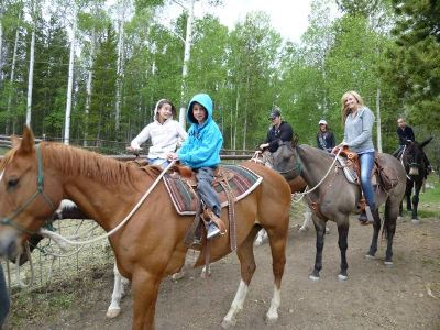 A Family Horseback Riding Adventure at Moon Lake
